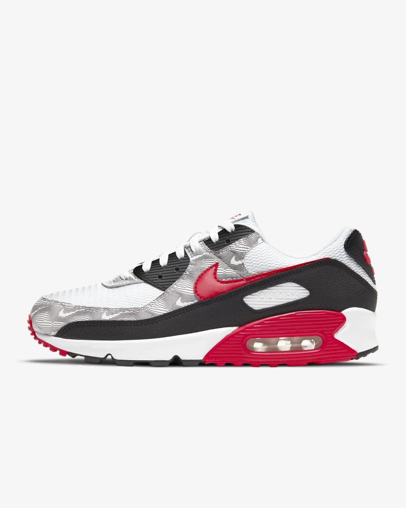 Nike Air Max 90 Topography Red_DJ0639-100_