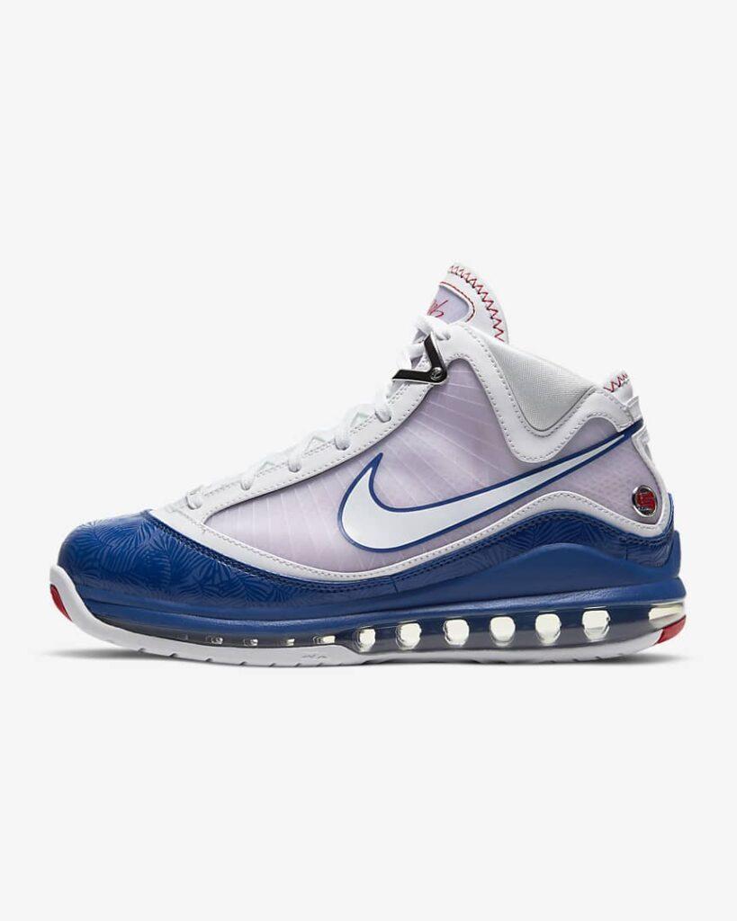 Nike LeBron 7 Baseball Blue-DJ5158-100-