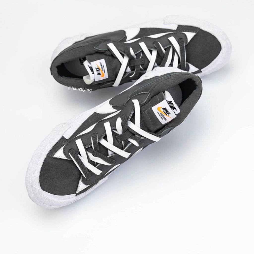 Nike x Sacai Blazer Low Black DD1877-002