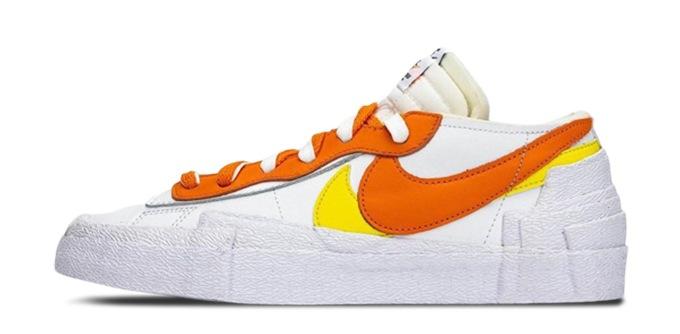 Nike x Sacai Blazer Low Magma Orange DD1877-100