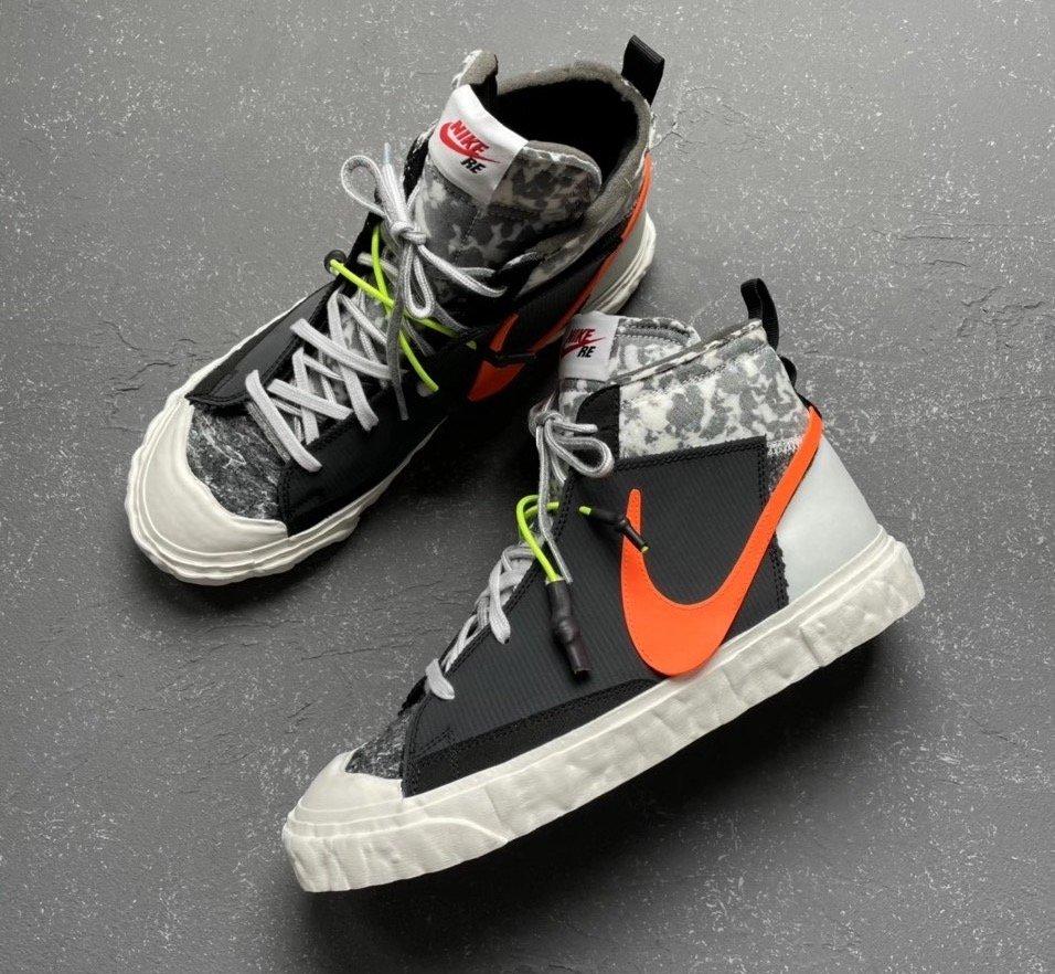 READYMADE x Nike Blazer Mid Black-CZ3589-100-deadstock-