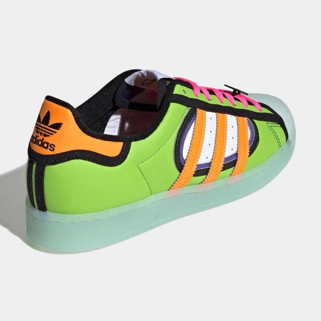 The Simpsons x adidas Superstar Squishee H05789