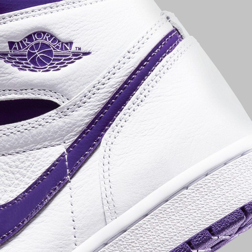 Nike Air Jordan 1 Metallic Purple
