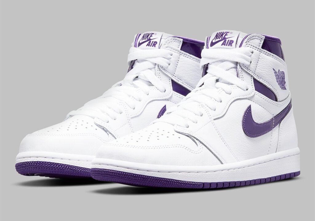 Air Jordan 1 Metallic Purple