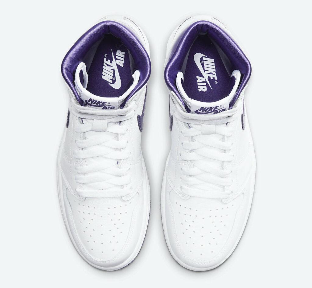 nike air Jordan 1 High Court Purple CD0461-151