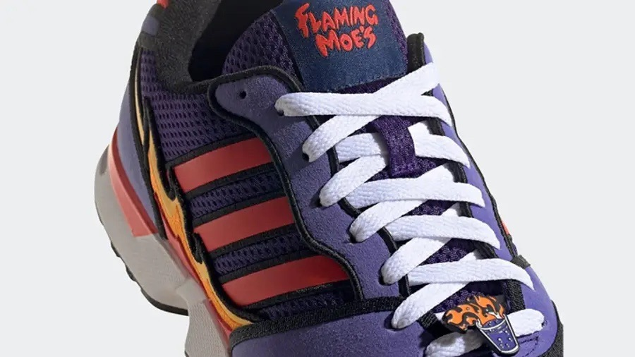 The Simpsons x adidas ZX 1000 Flaming Moes