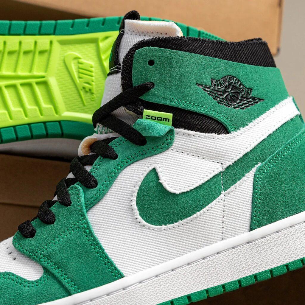 Jordan 1 High Zoom Stadium Green