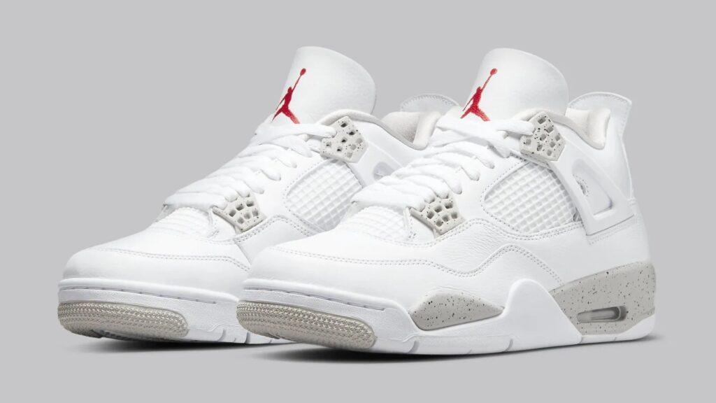Jordan 4 White Oreo t8527-100