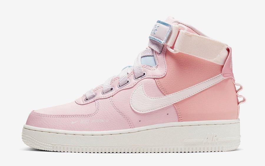 Nike Air Force 1 High Utility Force is Female CQ4810-621