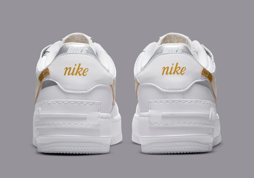 Nike Air Force 1 Shadow Gold Swoosh DM3064-100