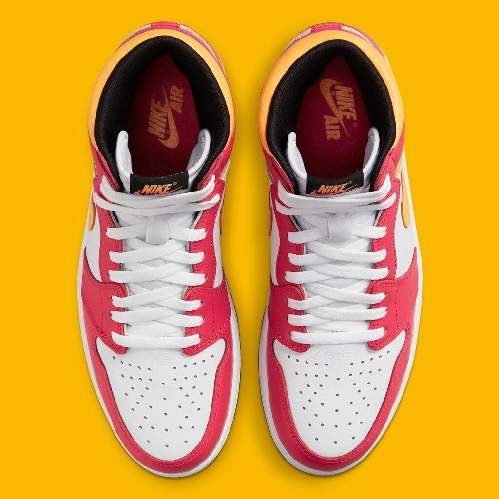 Jordan 1 High Light Fusion Red