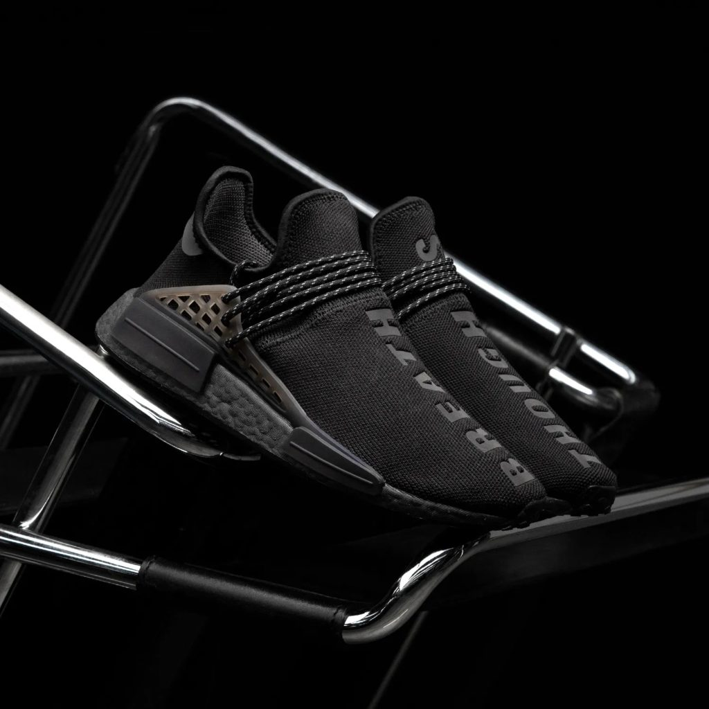 Pharrell Williams x adidas NMD HU Triple Black GX2487