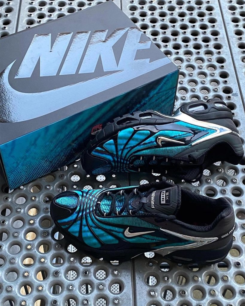 Skepta x Nike Air Max Tailwind 5 Bright Blue CQ8714-001