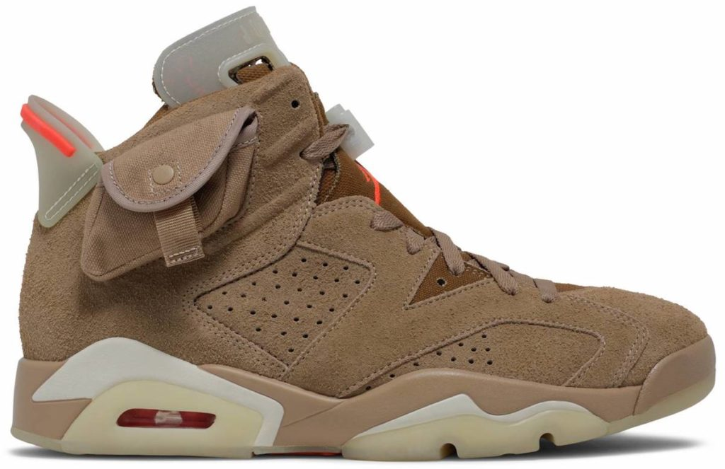 Travis Scott Jordan 6 British Khaki DH0690-200