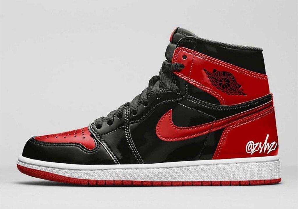 Air Jordan 1 Banned Patent