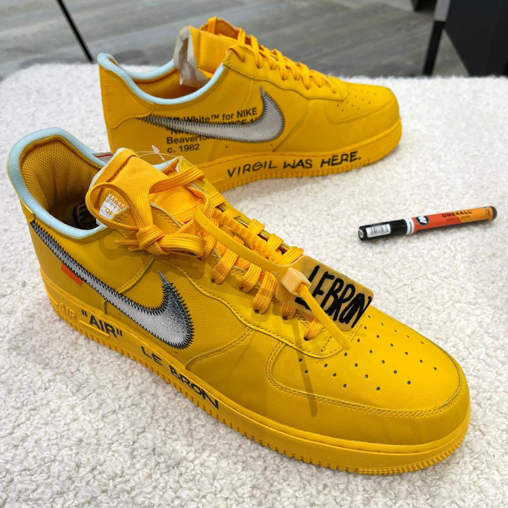 OFF-WHITE Air Force 1 Canary Yellow