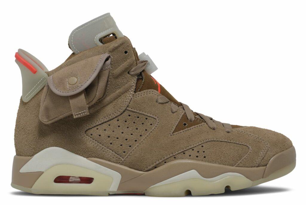 Travis Scott x Air Jordan 6 Khaki