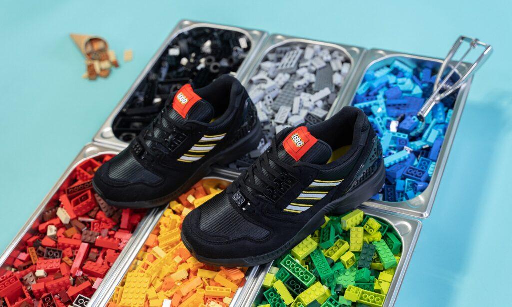 Lego x adidas ZX 8000 Black