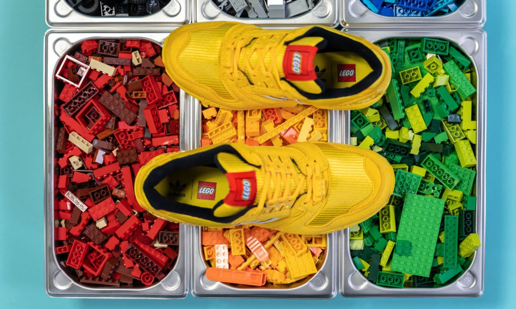 Lego x adidas ZX 8000 Yellow FY7081