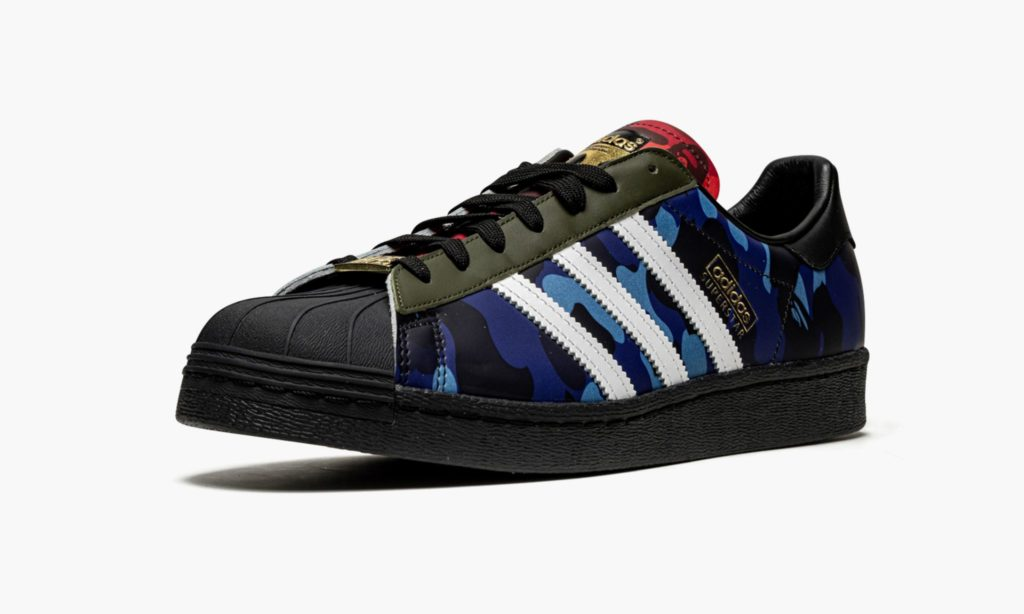 Bape x adidas Superstar Multi Camo