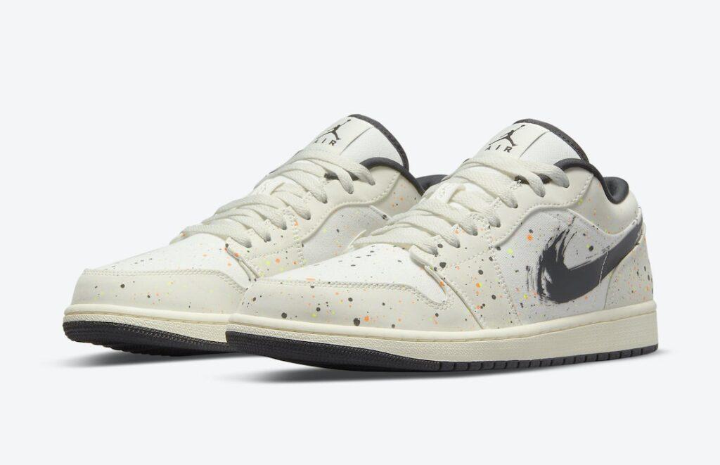 Jordan 1 Low Paint Splatters