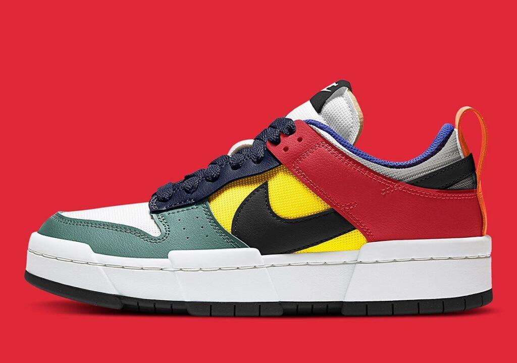 Nike Dunk Disrupt Multicolor