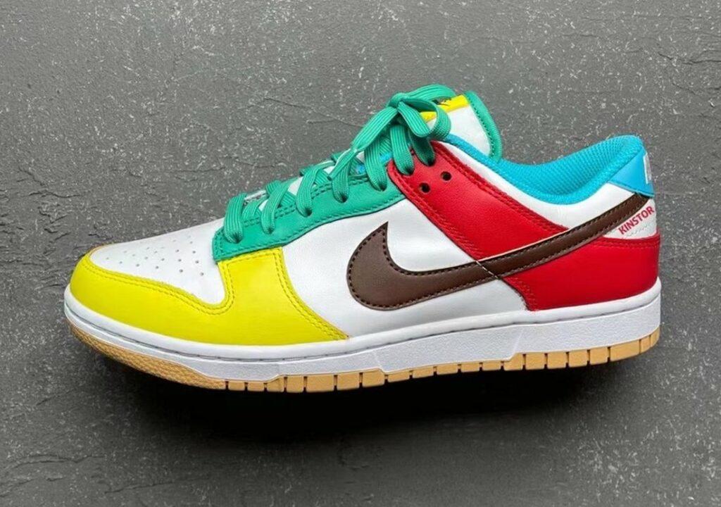Nike Dunk Low White Free 99