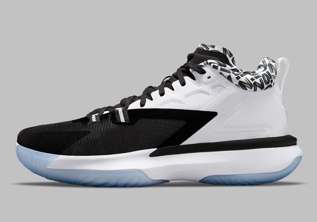 Nike Jordan Zion 1 Black White Gold