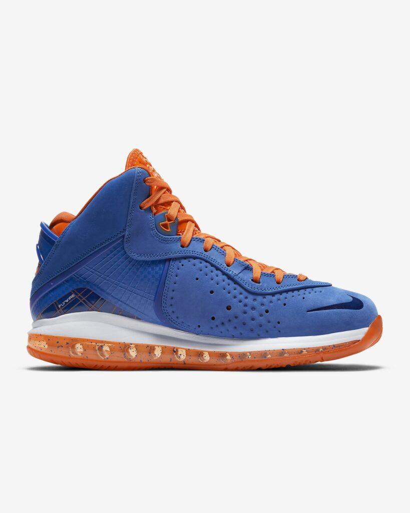 Nike LeBron 8 Blue Orange CV1750-400