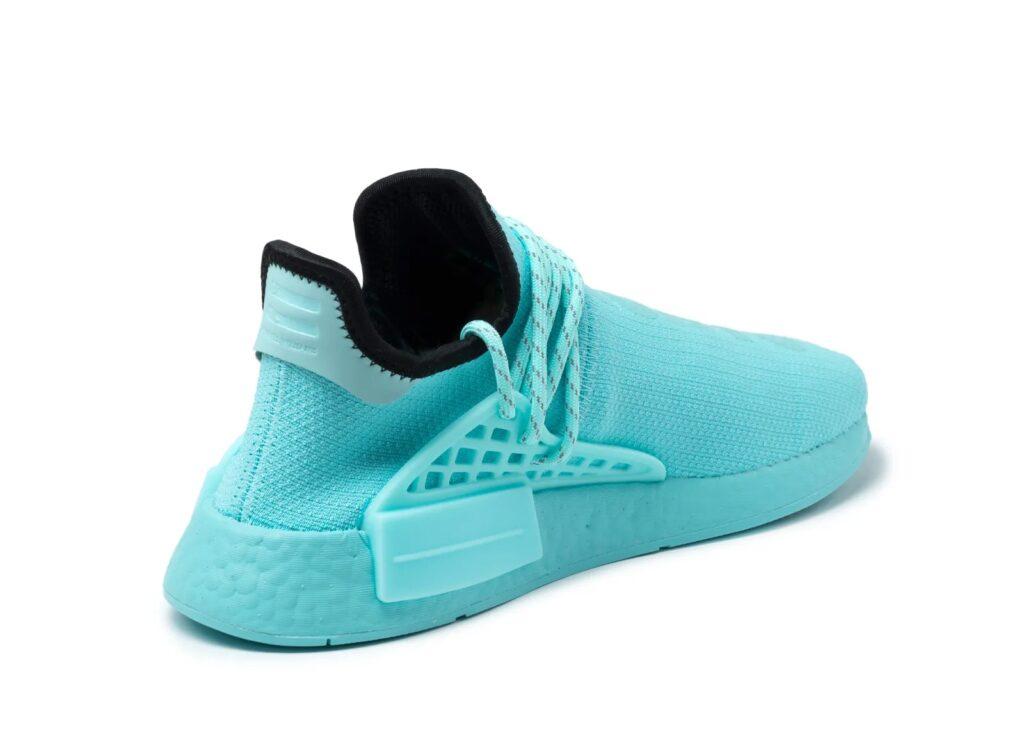 Pharrell Williams x adidas NMD HU Clear Aqua