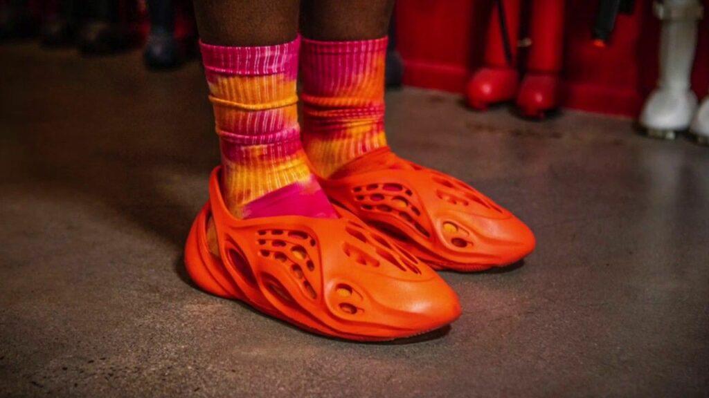 adidas Yeezy Foam Runner Vermilion Red