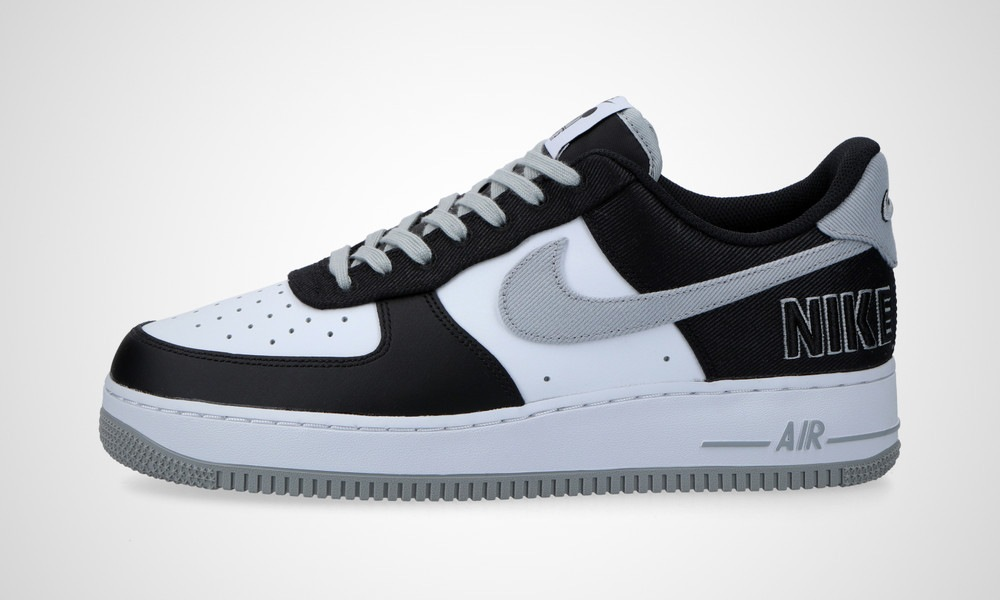 Air Force 1 EMB Black Silver