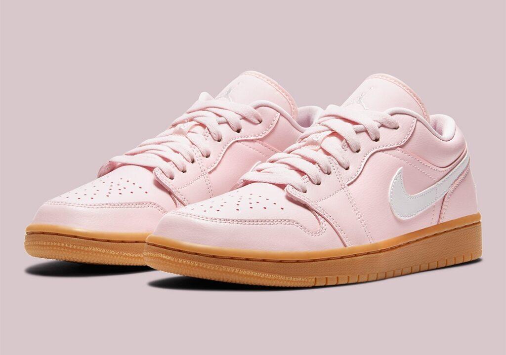 Jordan 1 Low Pink Gum