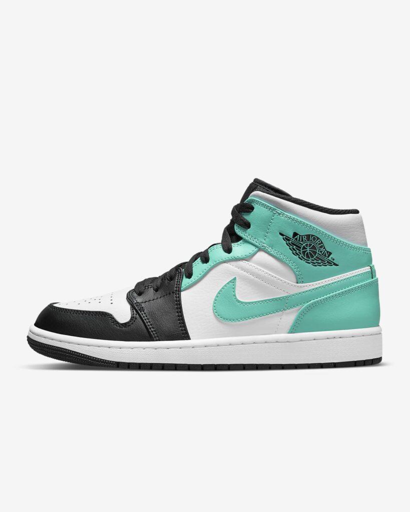 Jordan 1 Mid Island Green 554724-132