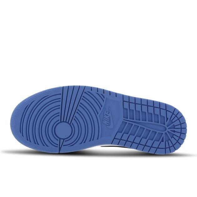 Jordan 1 Mid University Blue Mix Materials