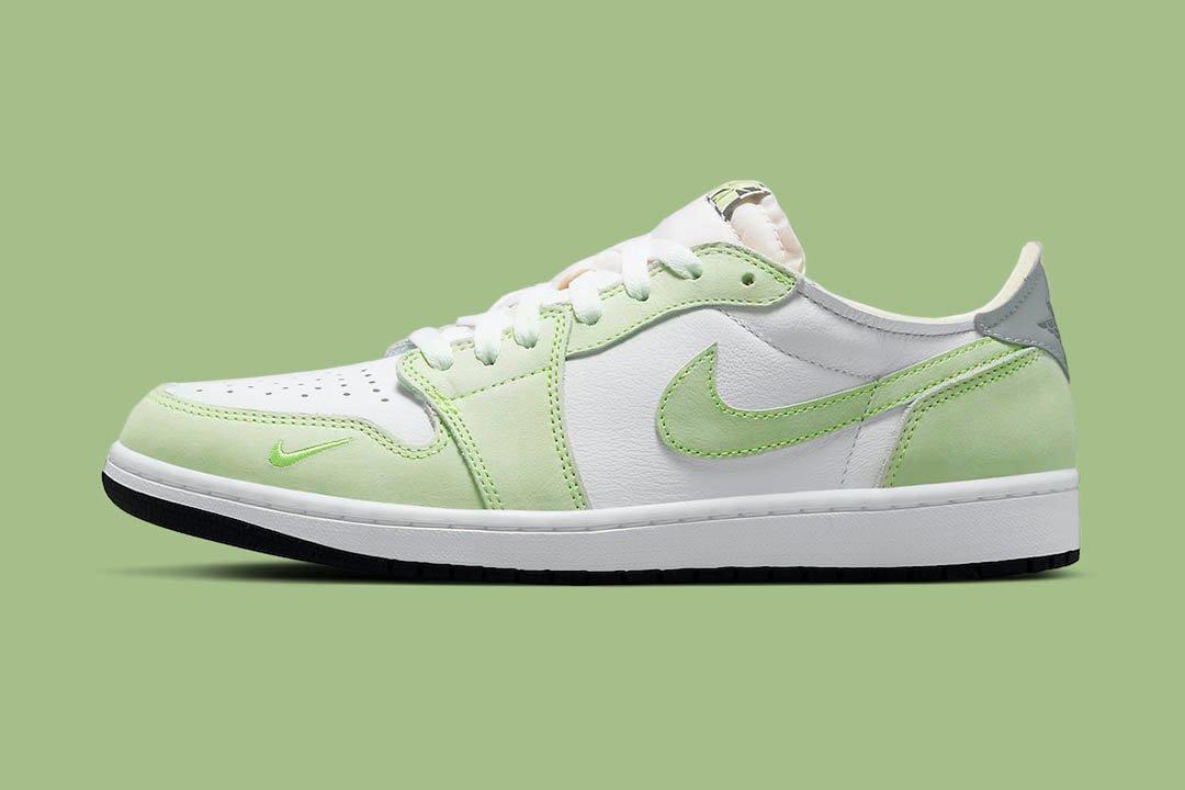 Air Jordan 1 Low Ghost Green Lead
