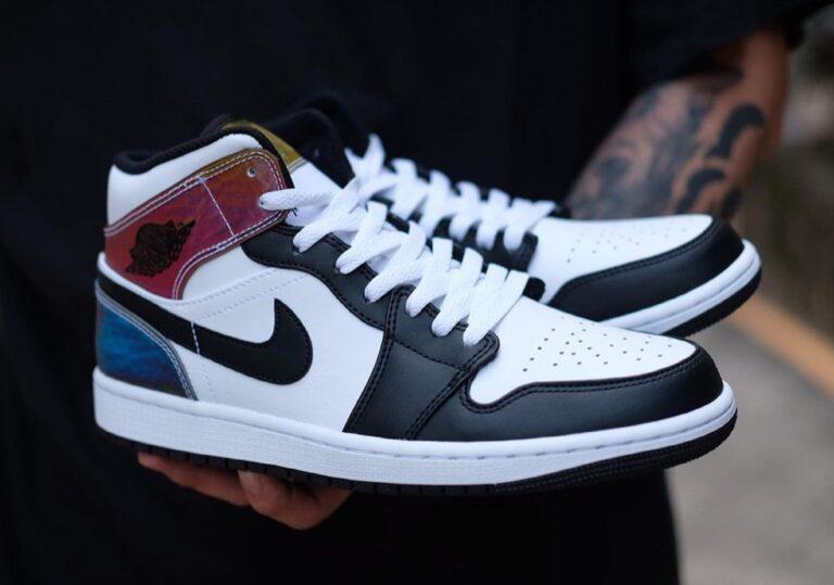 Nike Air Jordan 1 Mid Heat Reactive
