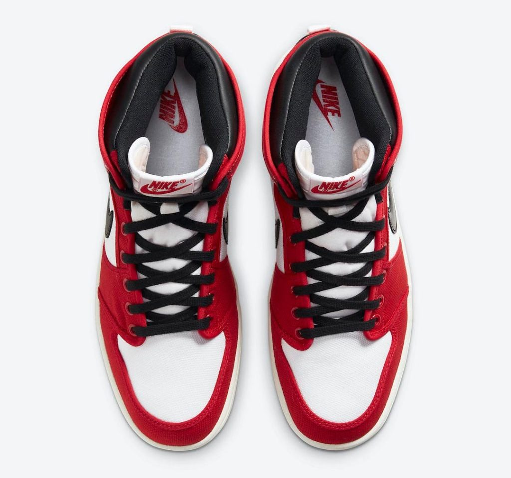 Nike Air Jordan 1 AJKO Chicago oben