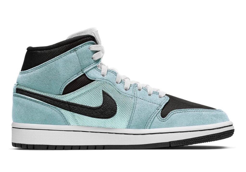 Jordan 1 Mid Aqua Blue Tint