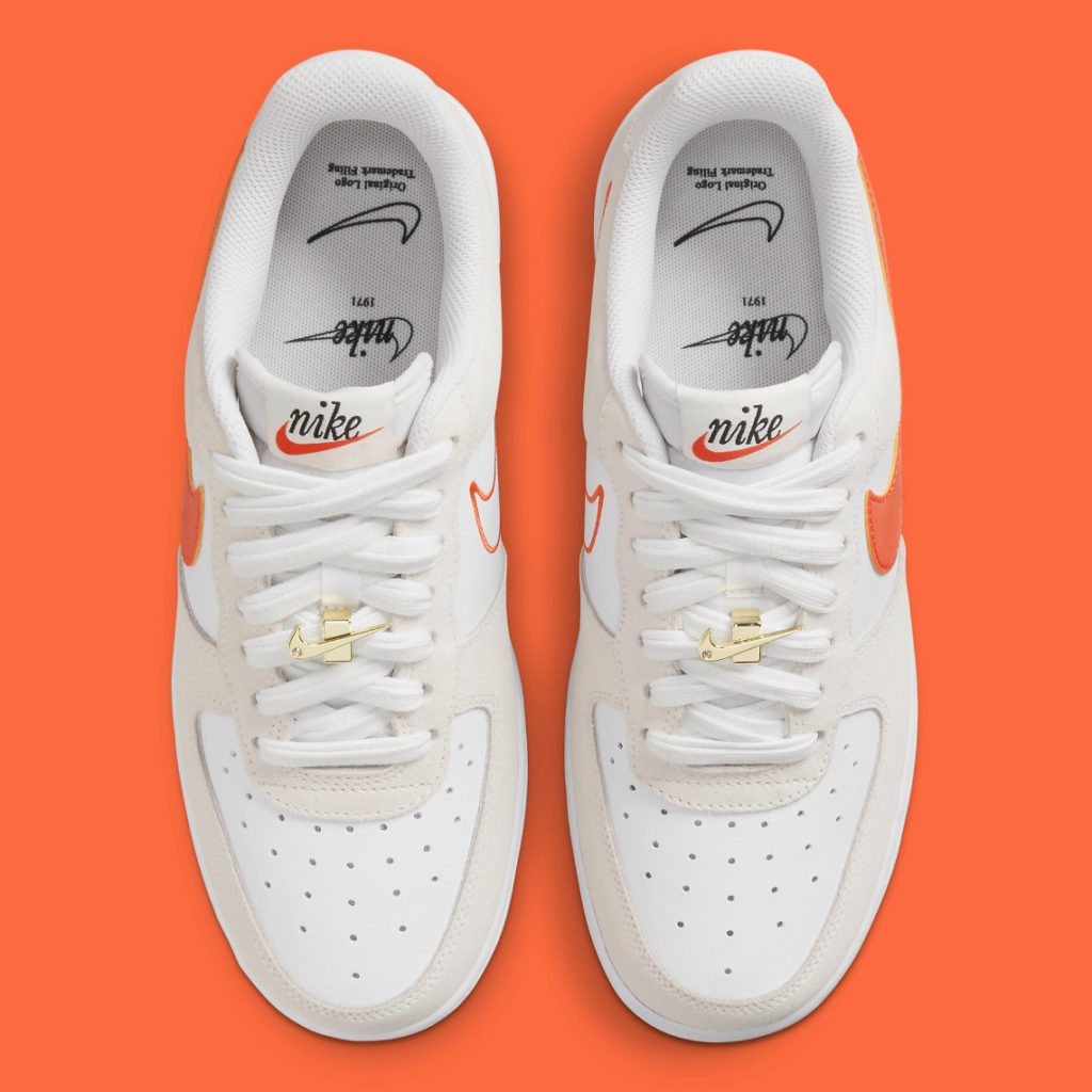 Air Force 1 First Use Orange