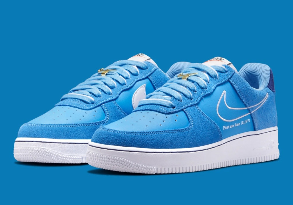 Air Force 1 First Use Blue