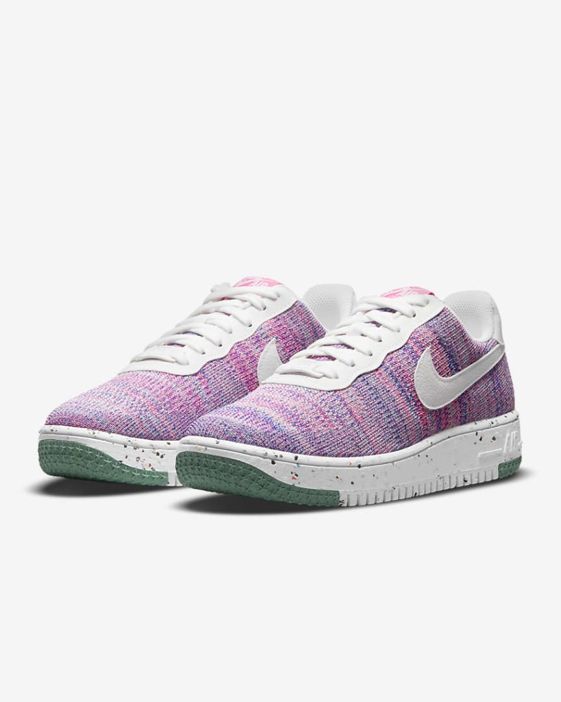 Air Force 1 Crater FlyKnit Pink Blast