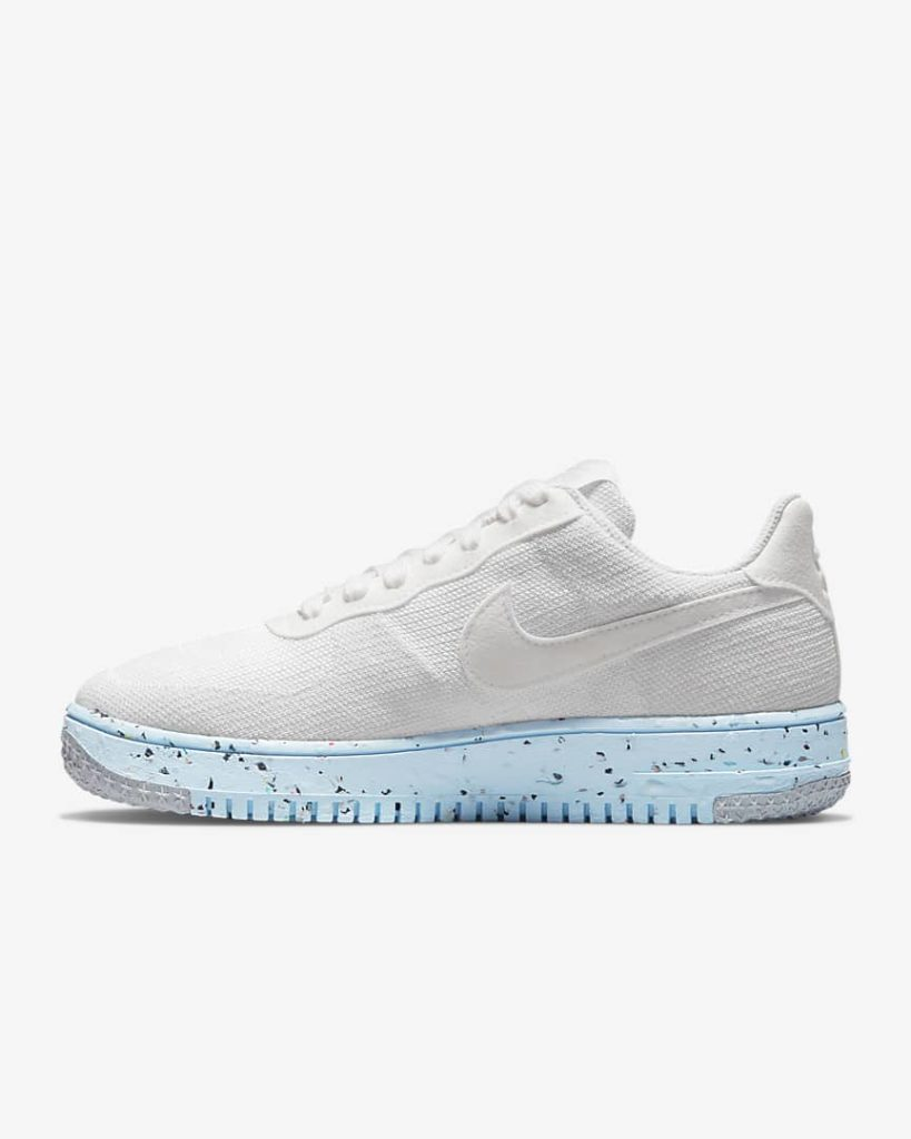 Air Force 1 Crater FlyKnit White