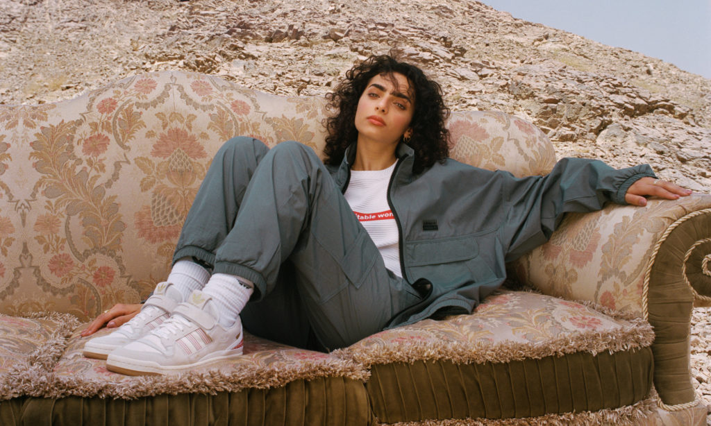 Arwa Al Banawi x adidas Forum Low Capra