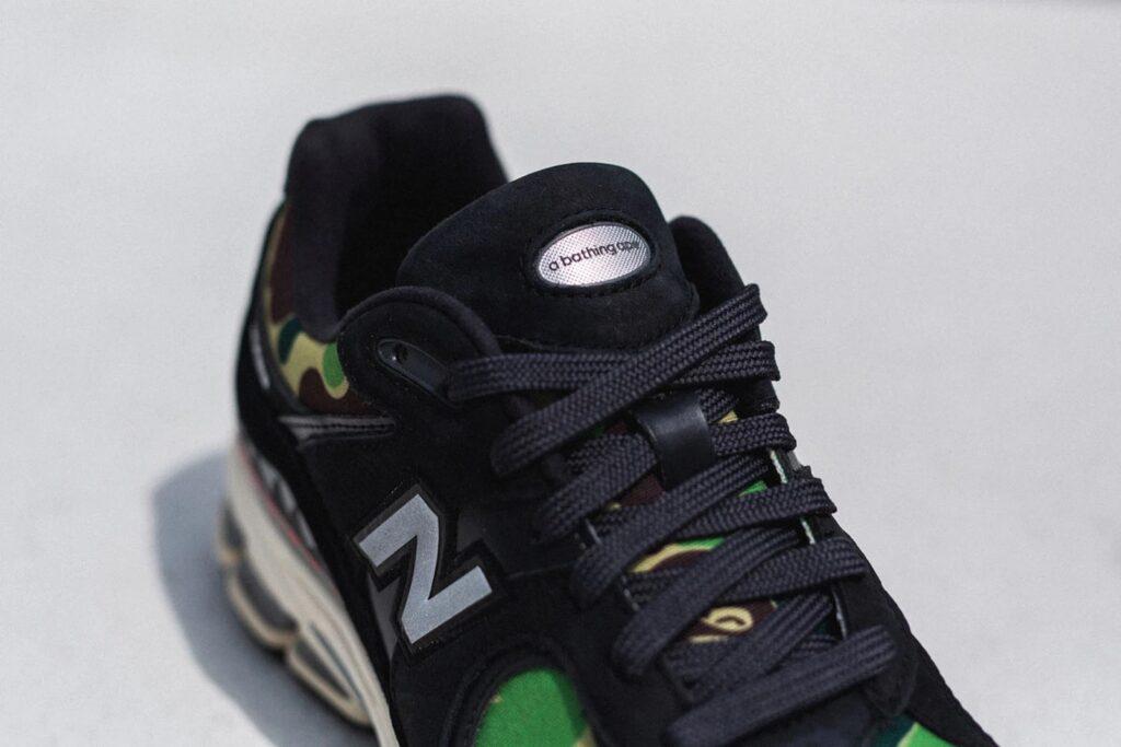 BAPE x New Balance 2002R Black