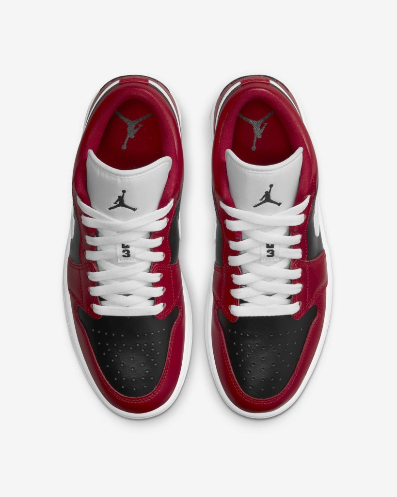 Jordan 1 Low Chicago Flip