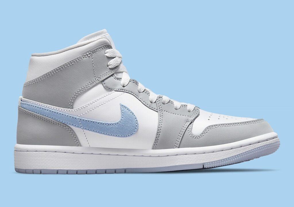 Jordan 1 Mid Icy Swoosh