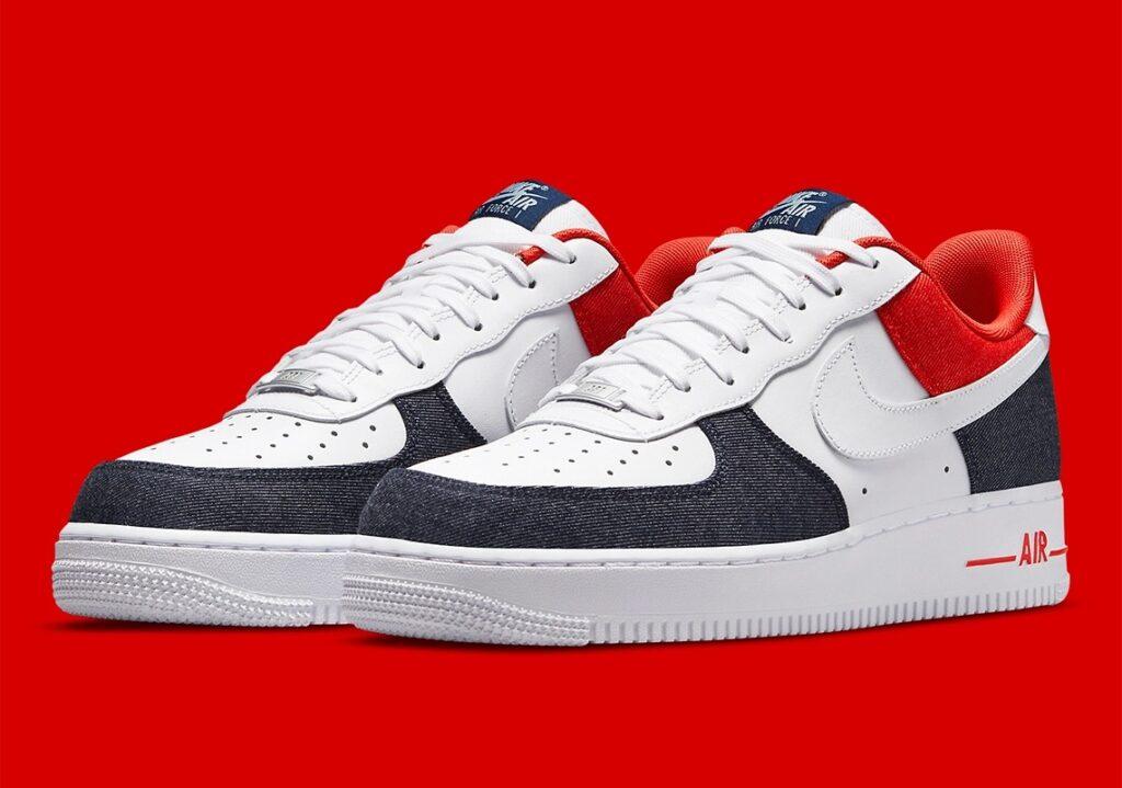 Nike Air Force 1 USA Denim