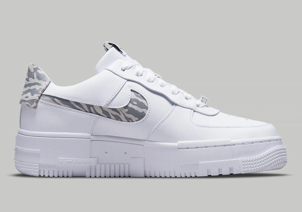 Nike Air Force 1 Pixel Zebra