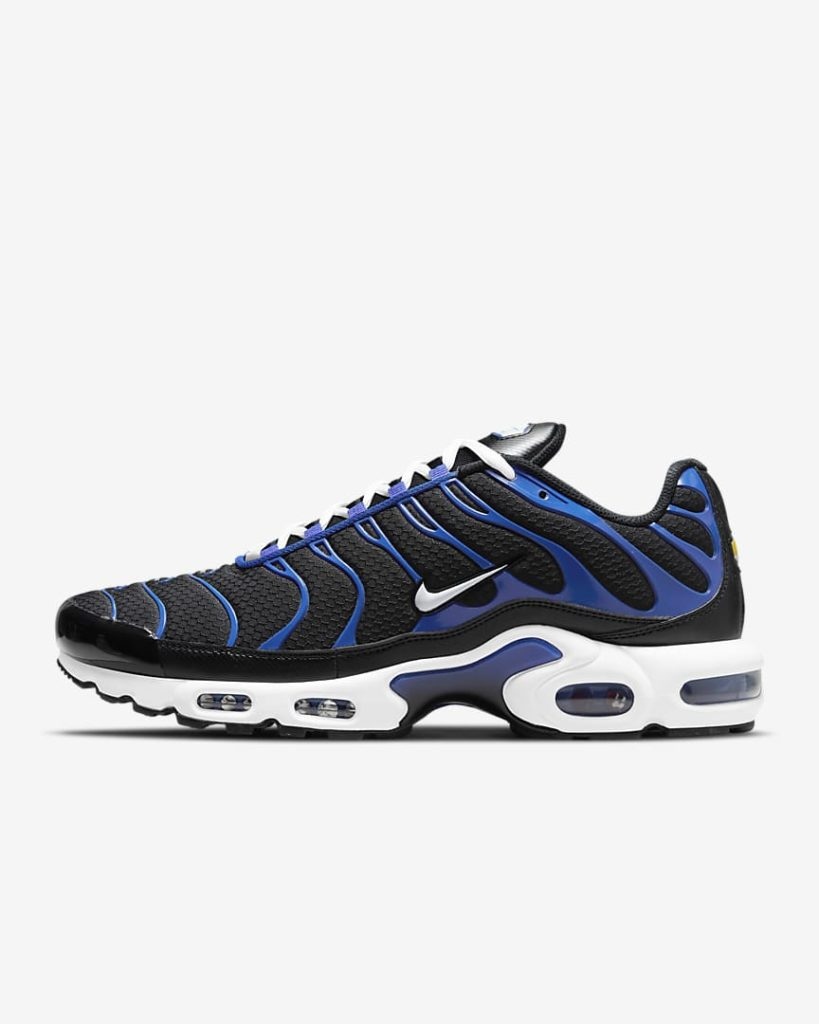 Nike Air Max Plus Black Racer Blue